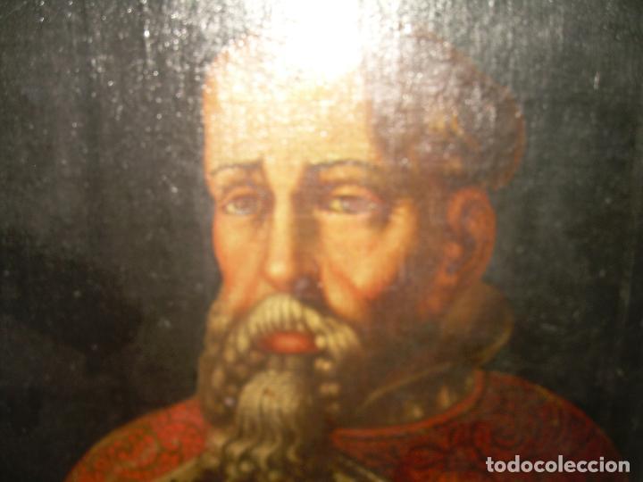 Arte: OLEO SOBRE LIENZO ANONIMO...SIGLO XVIII...CABALLERO. - Foto 3 - 99669067