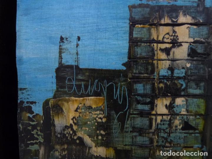 Arte: Lugris Vadillo ( Vigo 1942 - Coruña 2018). Vista del Berbes de Vigo. - Foto 2 - 99714743