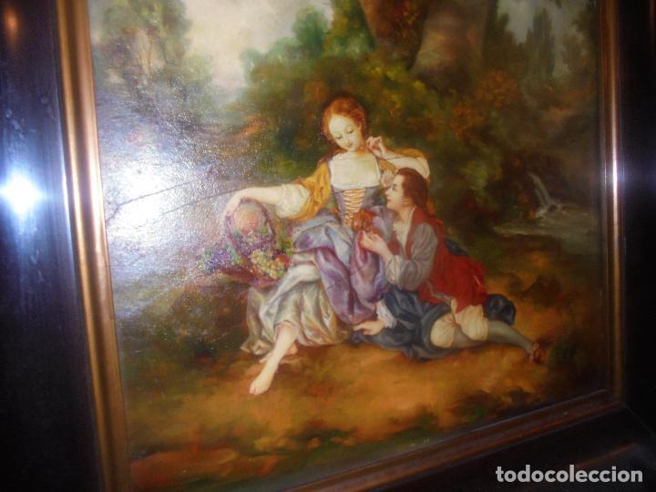OLEO SOBRE TABLA .SXVIII -XIX. (Arte - Pintura - Pintura al Óleo Antigua siglo XVIII)