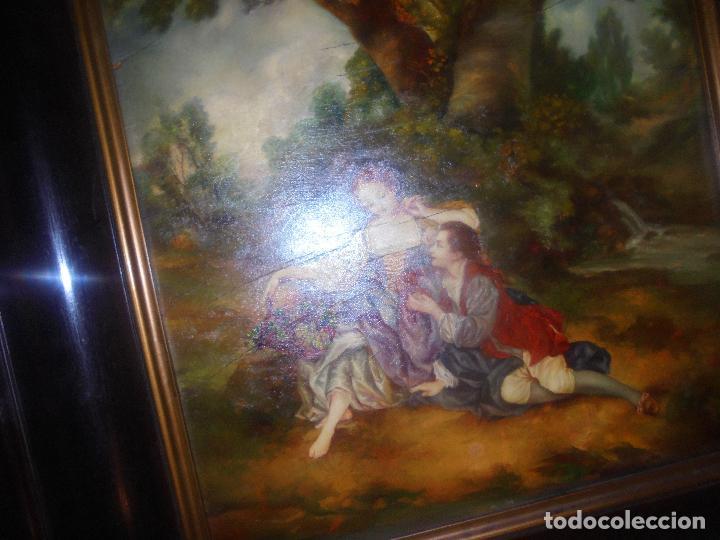 Arte: Oleo sobre tabla .SXVIII -XIX. - Foto 2 - 99758655
