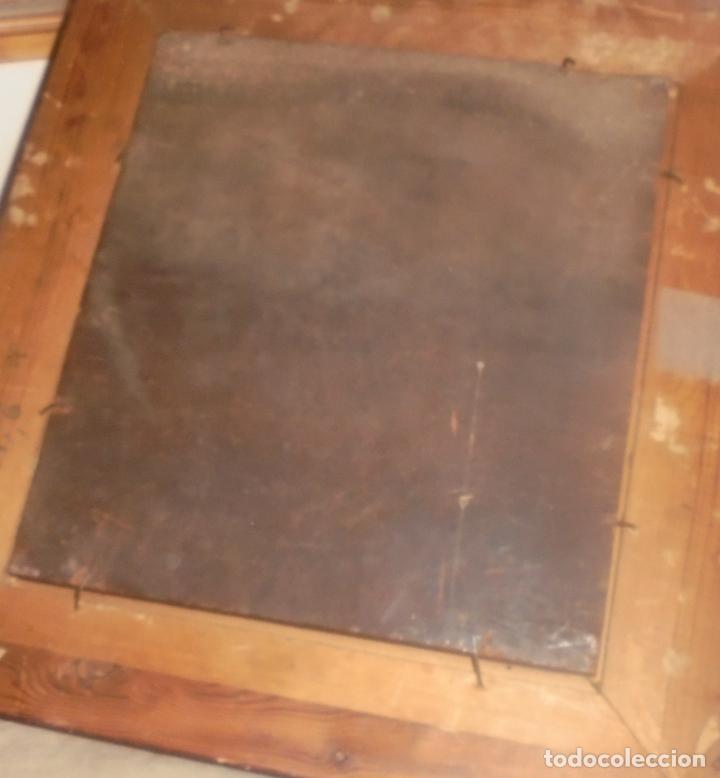 Arte: Oleo sobre tabla .SXVIII -XIX. - Foto 9 - 99758655