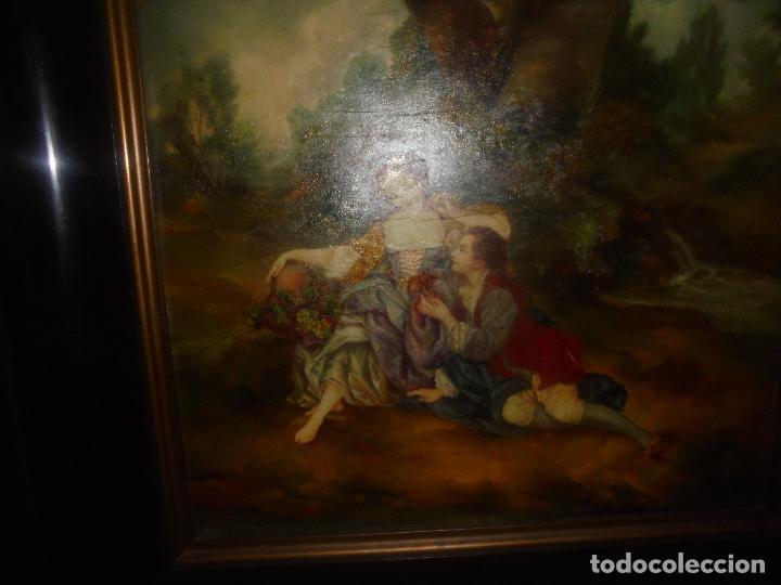 Arte: Oleo sobre tabla .SXVIII -XIX. - Foto 11 - 99758655