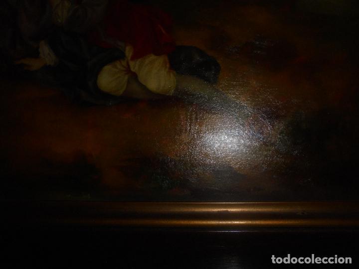 Arte: Oleo sobre tabla .SXVIII -XIX. - Foto 13 - 99758655