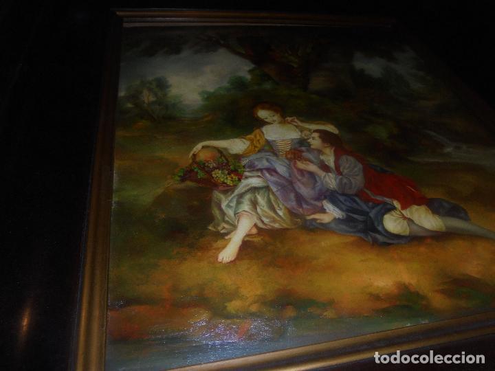 Arte: Oleo sobre tabla .SXVIII -XIX. - Foto 15 - 99758655
