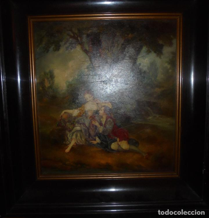 Arte: Oleo sobre tabla .SXVIII -XIX. - Foto 25 - 99758655