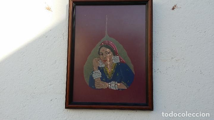 PINTURA EN HOJA (Arte - Pintura - Pintura al Óleo Antigua sin fecha definida)