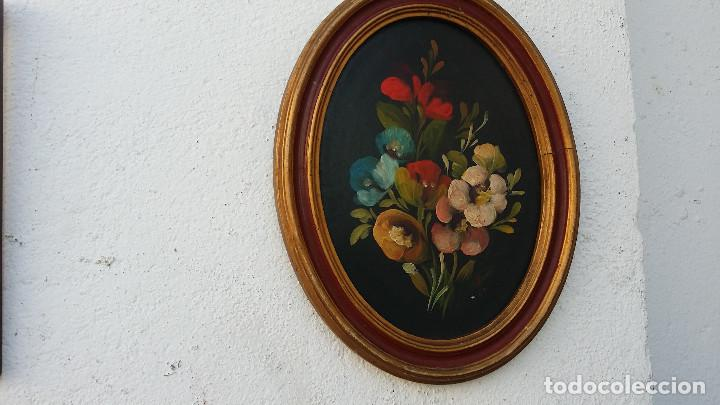 PINTURA OVALADA (Arte - Pintura - Pintura al Óleo Antigua sin fecha definida)