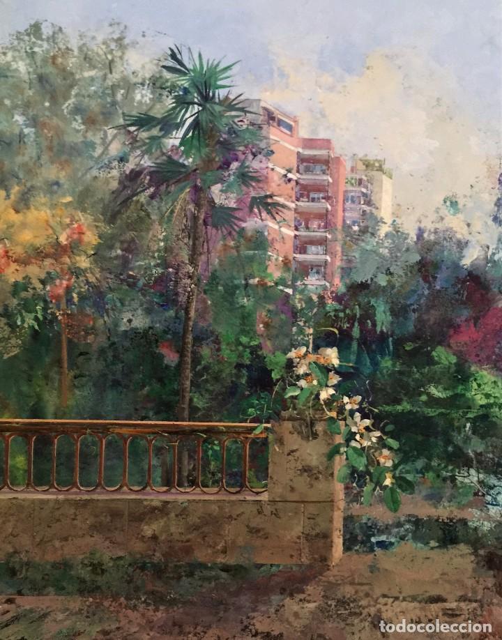 rincon del jardin botanico- angel pintado sevil - Comprar Pintura al ...