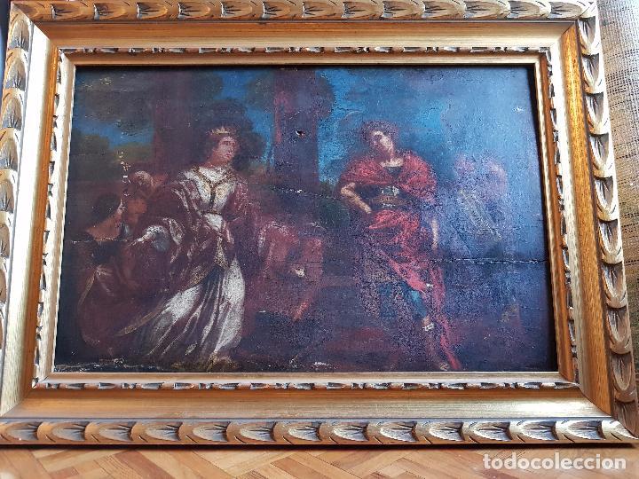 ÓLEO SOBRE TABLA SIGLO XVII (Arte - Pintura - Pintura al Óleo Antigua siglo XVII)