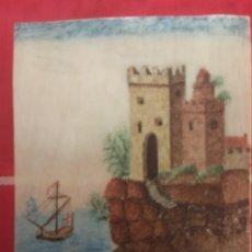 Arte: MINIATURA SOBRE MARFIL. SIGLO XVII. XVIII.. Lote 99973707