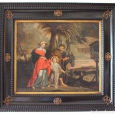 Arte - HUIDA A EGIPTO - ESCUELA FLAMENCA DEL SIGLO XVII - 100052763