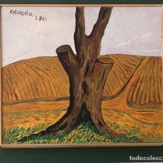 Arte: BADAJOZ. PINTURA TOTO ESTIRADO. PAISAJE. 61X51 CM. 1980. OLEO O ACRILICO?.. Lote 100086154