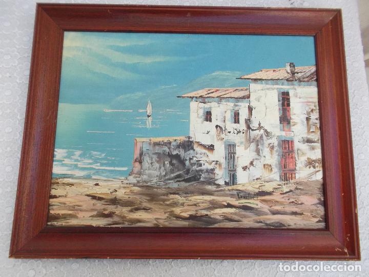 CUADRO OLEO DE GUILLEM FIRMADO POR EL AUTOR (Arte - Pintura - Pintura al Óleo Contemporánea )