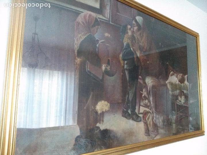 PINTURA SOBRE TAPIZ (Arte - Pintura - Pintura al Óleo Moderna siglo XIX)