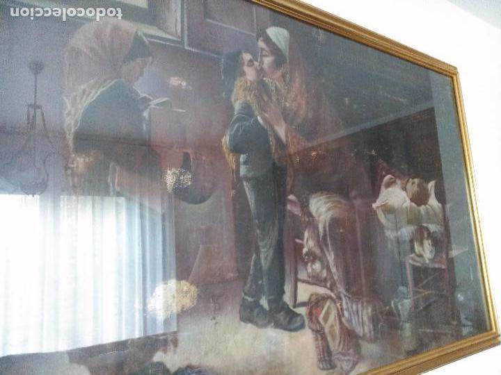 Arte: pintura sobre tapiz - Foto 2 - 100131159