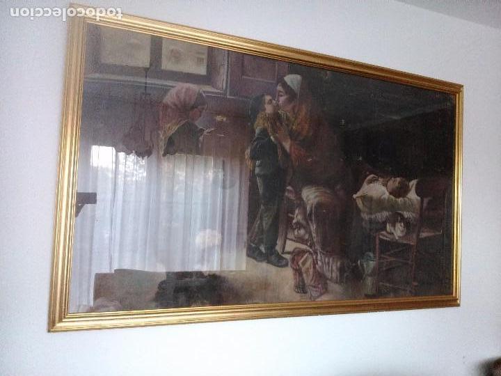 Arte: pintura sobre tapiz - Foto 3 - 100131159
