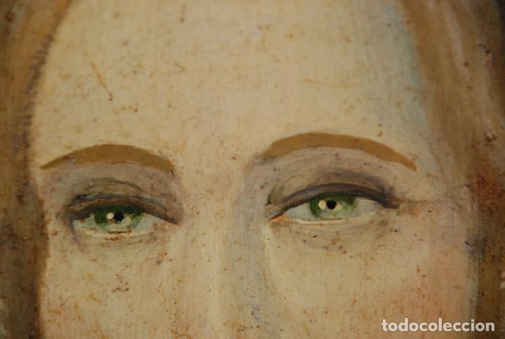 Arte: MUY BONITO RETRATO DE DAMA ÓLEO SOBRE LIENZO - Foto 11 - 100584963