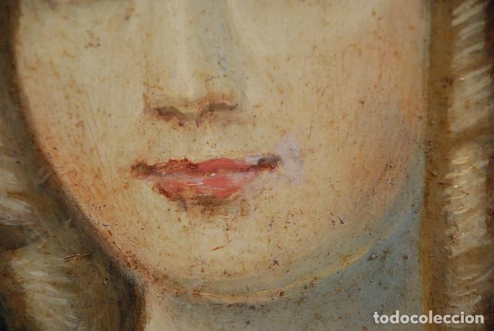 Arte: MUY BONITO RETRATO DE DAMA ÓLEO SOBRE LIENZO - Foto 12 - 100584963