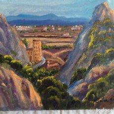 Arte: JOAN SOLER GIL, MONTSERRAT 3-FIGURA 17X22 CM. Lote 100623647