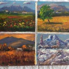 Arte: JOAN SOLER GIL, MONTSERRAT-LA MOLA-MONTSENY-PEDRA FORCA 3-FIGURA 17X22 CM. Lote 100624219