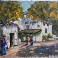 Arte: JOAN SOLER GIL, LES ARENES 1998 3-FIGURA 17X22 CM. Lote 100625383