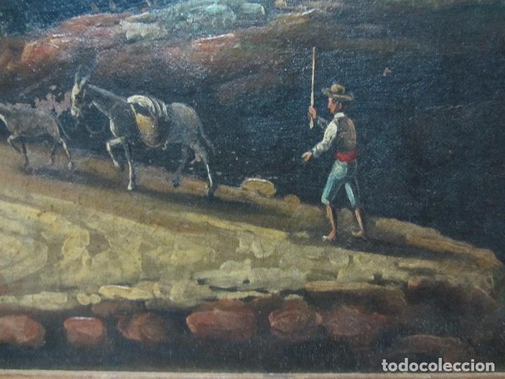 Arte: Paisaje del siglo XVIII oleo sobre tela - Foto 9 - 100629883