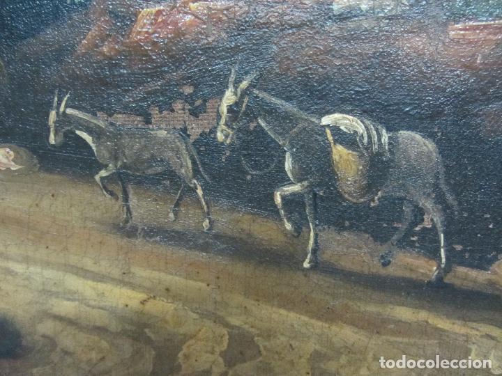 Arte: Paisaje del siglo XVIII oleo sobre tela - Foto 10 - 100629883