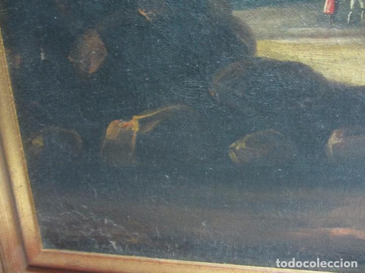 Arte: Paisaje del siglo XVIII oleo sobre tela - Foto 11 - 100629883