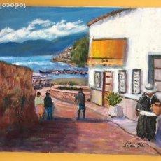 Arte: JOAN SOLER GIL, EIVISSA 8 PAISATGE 46X33 CM.. Lote 100698511