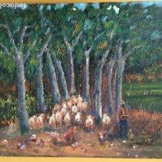 Arte: JOAN SOLER GIL, ARBREDA 1998 8 PAISATGE 46X33 CM.. Lote 100700611