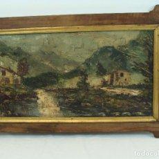 Arte - Óleo sobre tabla Paisaje - Siglo XIX - 101004987