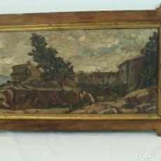 Arte - Óleo sobre tabla Paisaje - Siglo XIX - 101005035