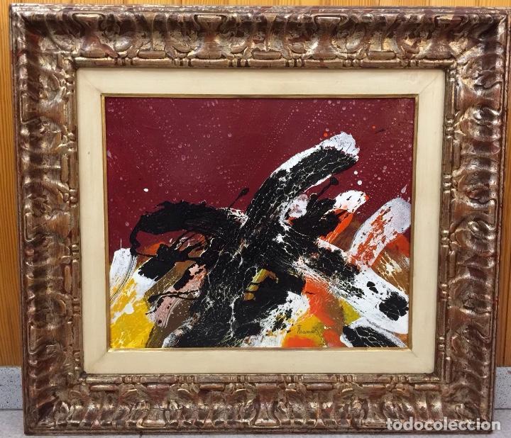OBRA ORIGINAL THARRATS, ÓLEO SOBRE LIENZO, FIRMADA. (Arte - Pintura - Pintura al Óleo Contemporánea )