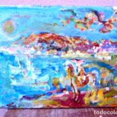 Arte: ÓLEO SOBRE TELA.RAMÓN BOTER.(BARCELONA 1954).ESCUELA SANVISENS. Lote 101106963