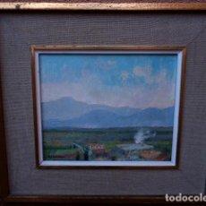 Arte: ÓLEO SOBRE TÁBLEX.FIRMADO NOGUERAS.LA SENIA.PRIMAVERA 1975. Lote 101243707