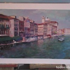 Arte: MAGNIFICO OLEO. GRAN CANAL DE VENECIA. DOMINGO ALVAREZ.. Lote 101278707
