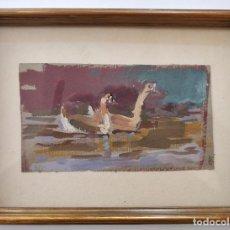 Arte: EXTRAORDINARIO OLEO IMPRESIONISTA, FIRMADA C.D.K. AÑOS 50, PINCELADA ELEGANTE, BONITOS COLORES. Lote 101357411