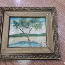 Kunst - Óleo sobre tabla firmado siglo XIX. - 101371247