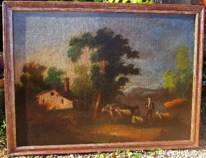 CUADRO ANTIGUO (Arte - Pintura - Pintura al Óleo Antigua sin fecha definida)