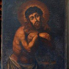 Arte: JESÚS MÁRTIR, ANÓNIMO, PINTURA AL ÓLEO. 97X79CM. Lote 101530891