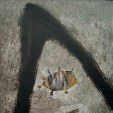 Arte: RICARDO MONTESDEOCA PINTOR EN LAS ISLAS ARTISTA NACIDO EN 1962 CANARIAS (ESPAÑA). OBRA CON EXPOSICIO. Lote 101603627