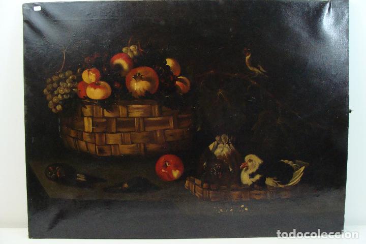 ÓLEO SOBRE LIENZO BODEGÓN - SIGLO XX (Arte - Pintura - Pintura al Óleo Moderna sin fecha definida)