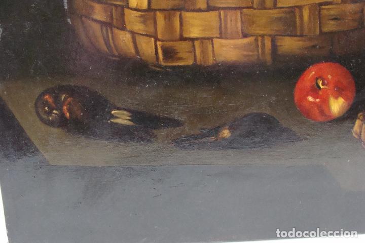 Arte: Óleo sobre lienzo Bodegón - Siglo XX - Foto 5 - 101638691
