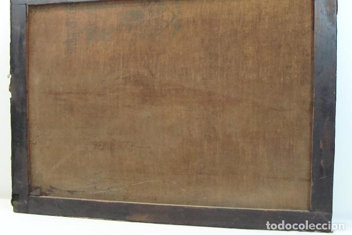 Arte: Óleo sobre lienzo Bodegón - Siglo XX - Foto 7 - 101638691
