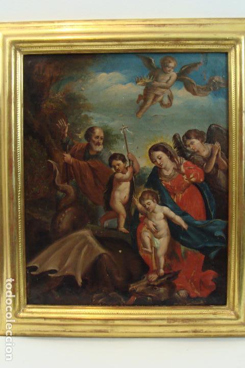 ÓLEO SOBRE LIENZO - SIGLO XIX (Arte - Pintura - Pintura al Óleo Moderna siglo XIX)