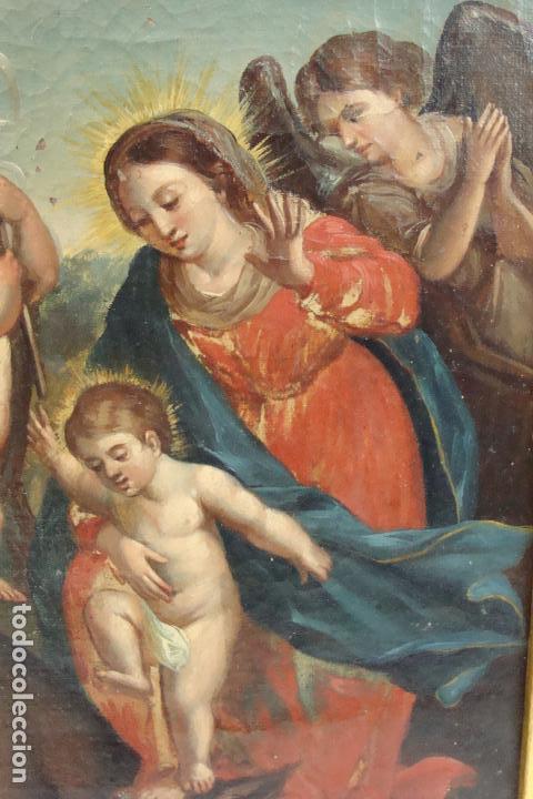 Arte: Óleo sobre lienzo - Siglo XIX - Foto 3 - 101639627