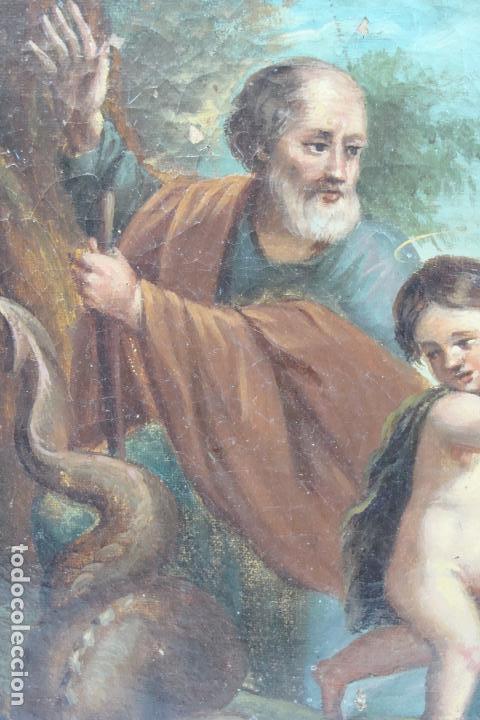 Arte: Óleo sobre lienzo - Siglo XIX - Foto 4 - 101639627