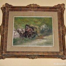 Arte: OLEO ENMARCADO DE JUAN FERNANDEZ IBARLOZA JUANON (1905-1978). Lote 101740391