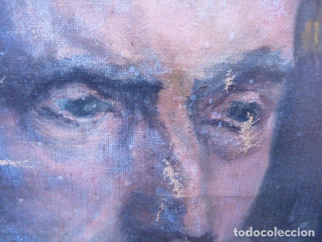 Arte: óleo sobre tela,anónimo.buena calidad.retrato. - Foto 3 - 101775587