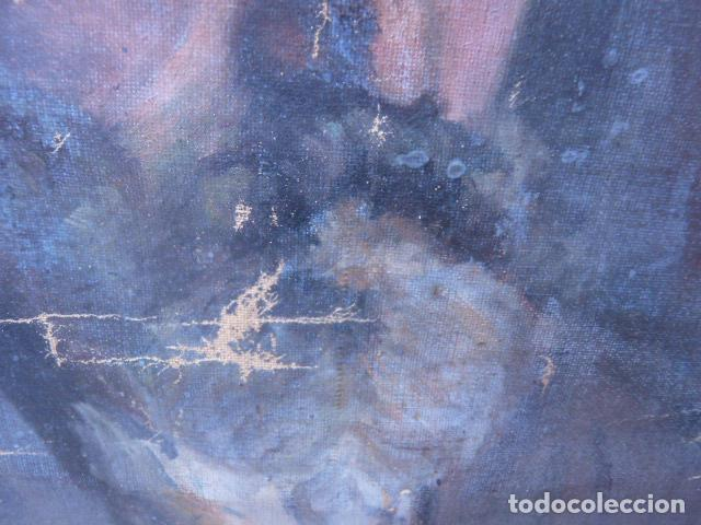 Arte: óleo sobre tela,anónimo.buena calidad.retrato. - Foto 4 - 101775587